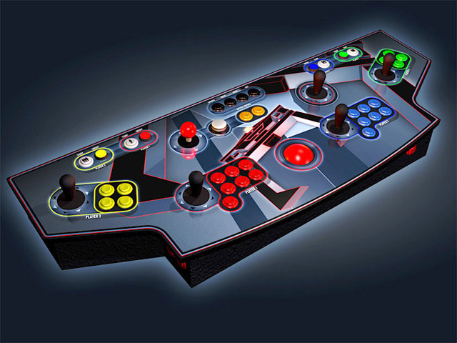 Anyone worked on/know of any 4-player barcade/wall mount